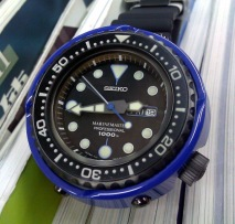 "Photo Review: Seiko SBBN021 ""Blue Ocean"""