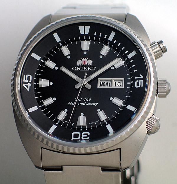 Orient Cal 469 40th Anniversary Commemorative Watch
