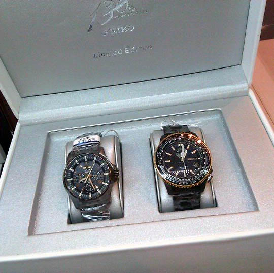 Seiko 130th Anniversary Limited Edition Set