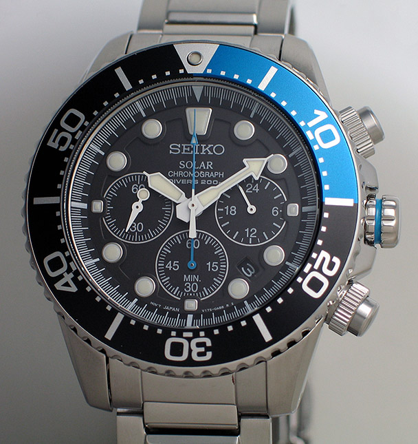 Seiko Solar Chronograph Diver Ssc017p Yeomans Watch Review