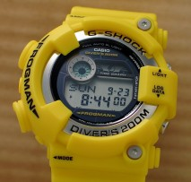Some Pictures of the Yellow G-Shock Frogman – GF8250-9JF