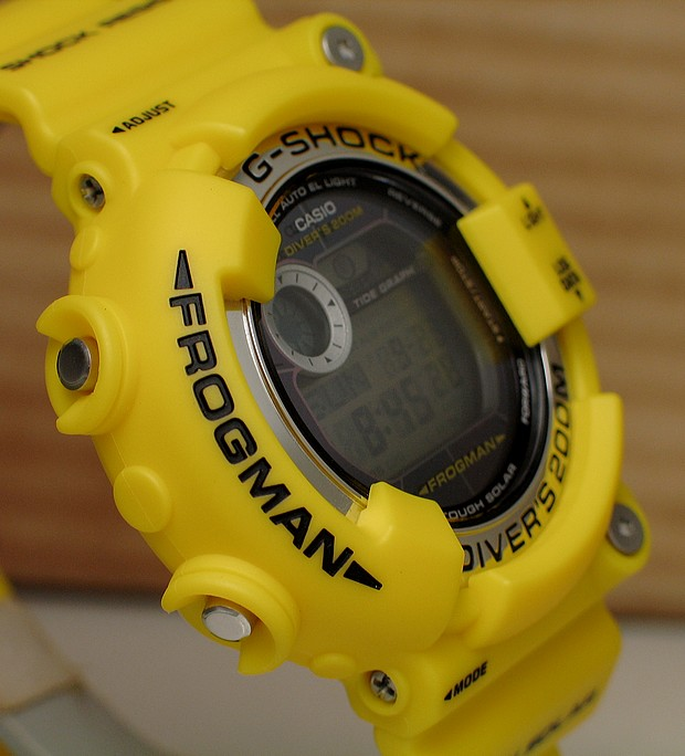 Some Pictures Of The Yellow G-Shock Frogman