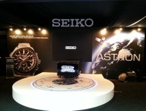 Launch of Seiko Astron GPS Solar Watch in Singapore