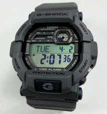 Cellphone shots of my Casio G-Shock Vibe Alarm – GD-350-8DR