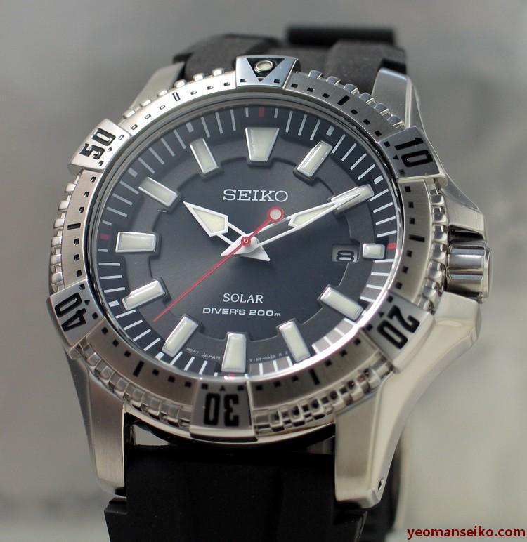 Seiko Solar Diver – SNE293P   Yeoman's Watch Review