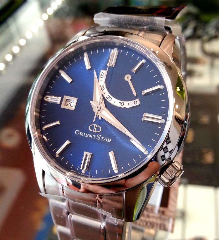 Watches i saw orient stars at big time yeoman 39 s watch for Orient mobel