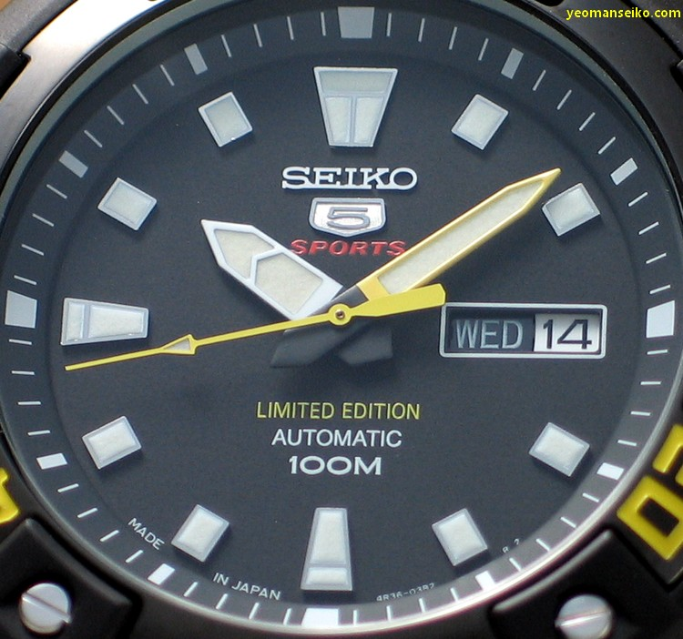 Limited Edition Seiko 5 - SRP509J (2/6)