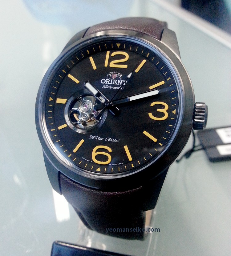 New orient watches at big time 6th dec 2014 yeoman 39 s for Orient mobel