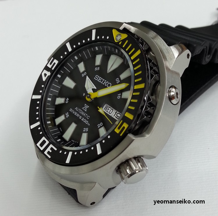 New Seiko 200m Shrouded Divers - SRP639K and SRP641K (6/6)