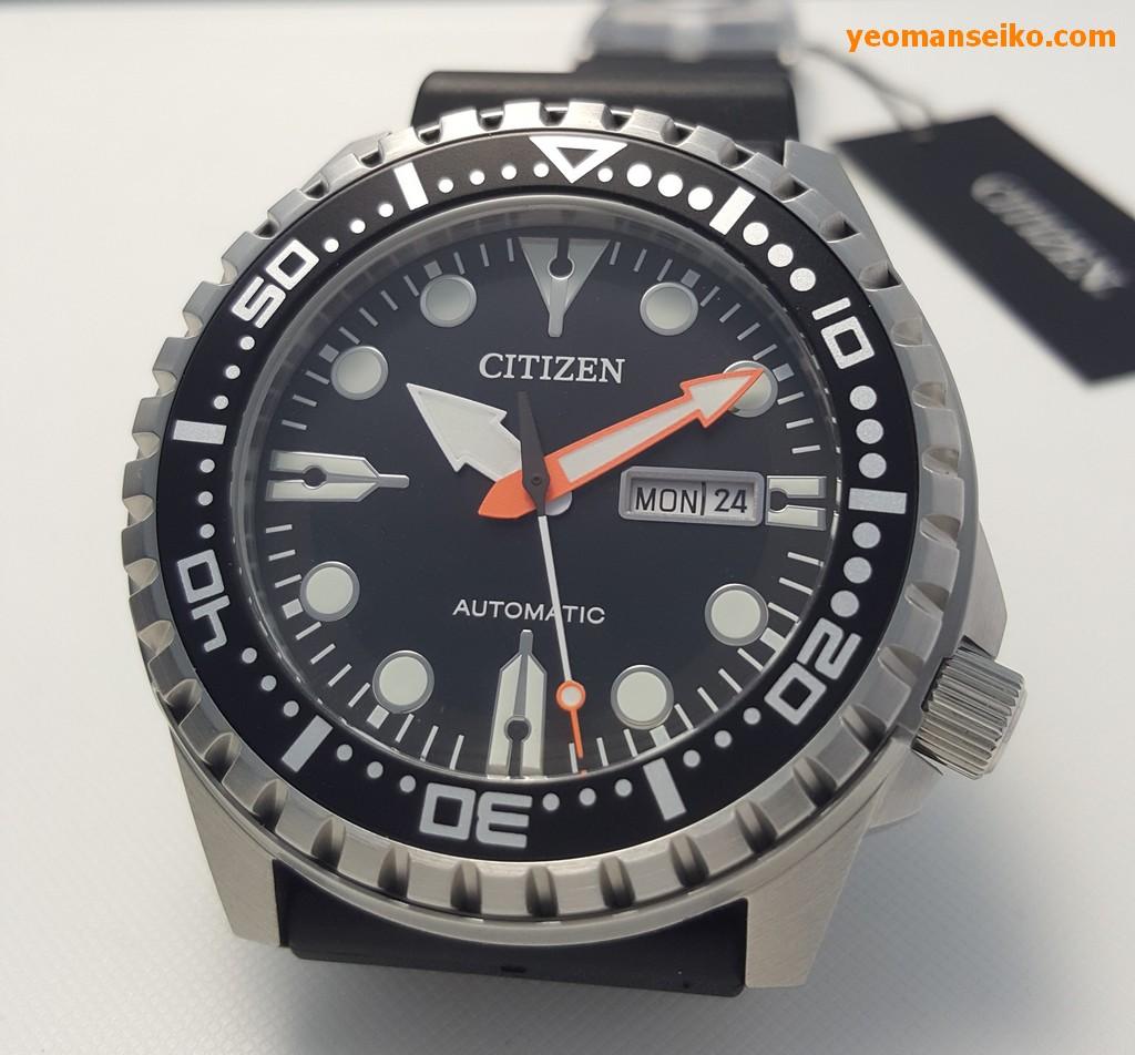 Citizen 100m Mechanical Model – NH8380-15E