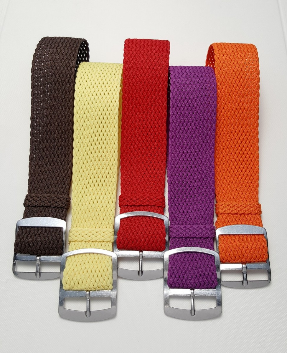 Perlon Straps by Watchbandit.com